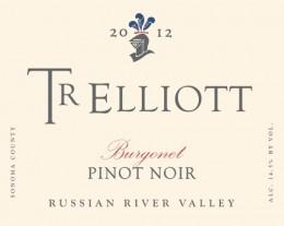TR Elliott Burgonet Russian River Pinot Noir